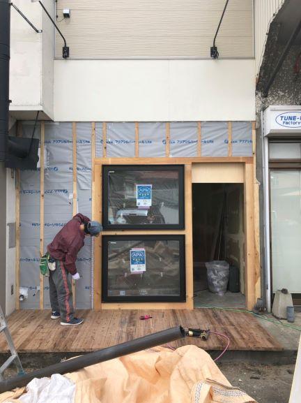リー・ハウスstudio デッキ・外壁工事
