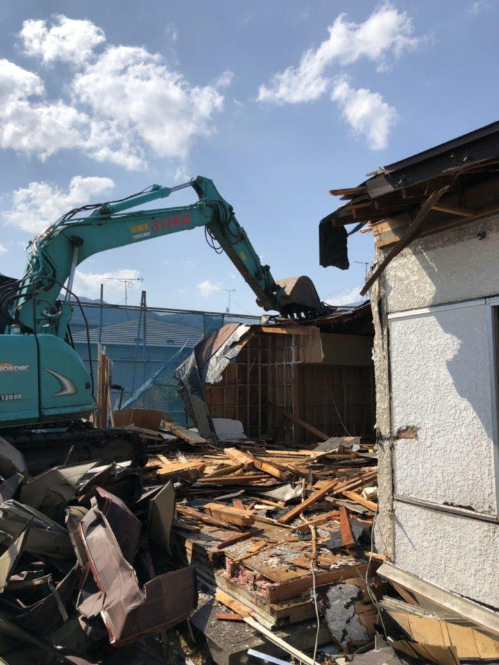 盛岡市 K様邸 解体完了